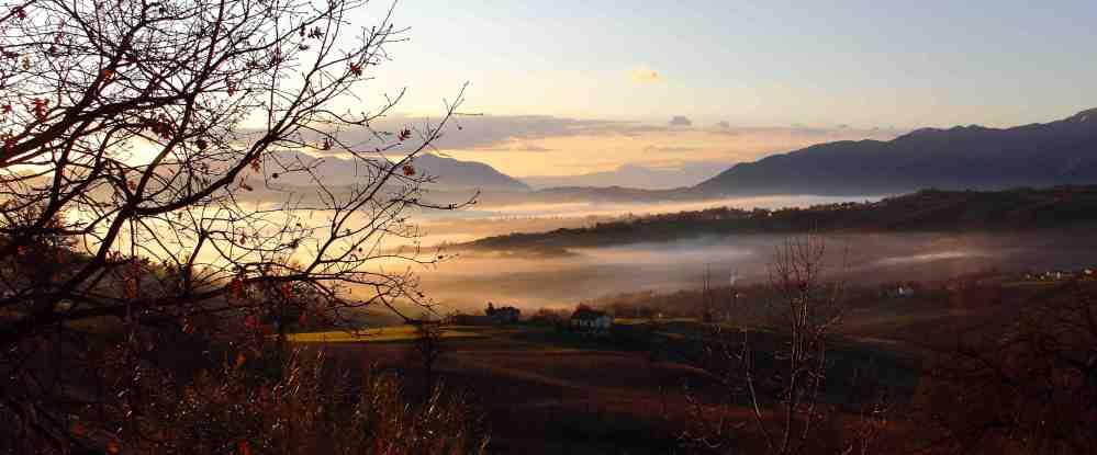 Santojanni (Alta Irpinia) - stamane 4.1.2012