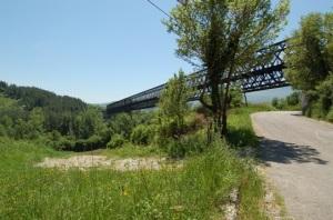 Ferrovia Avellino Rocchetta _Ponte in ferro a Lapio _foto angelo verderosa
