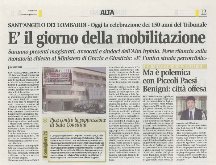 2013 04 20 corriere irpinia