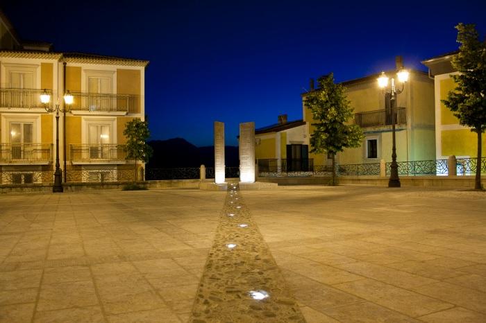 Castelnuovo di Conza, Piazza