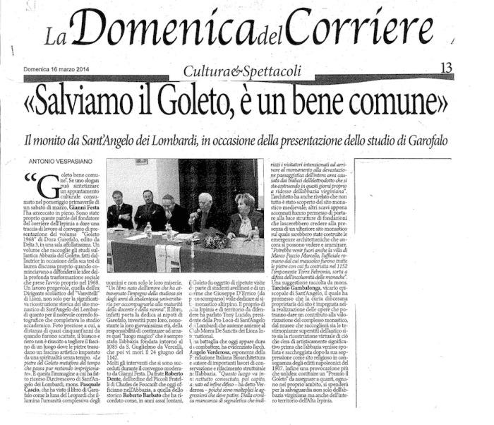 2014 03 16 la domenica del corriere