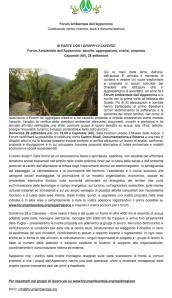 forum ambientale appennino