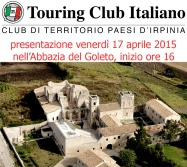 2015 04 17 touring club italiano abbazia del goleto paesi d irpinia