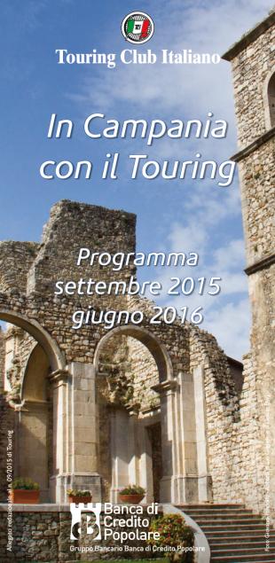 touring club italiano irpinia programma