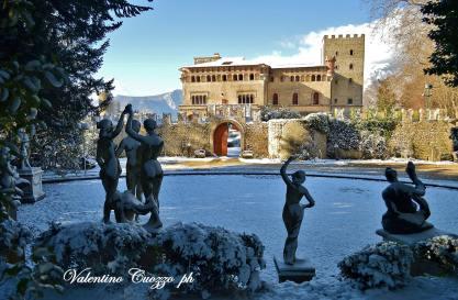 Valva (Sa) _ Villa d'Ayala Valva, il Castello _ foto V. Cuozzo