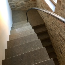 Casa D., Cairano _ scale interne _ Angelo Verderosa Architetto
