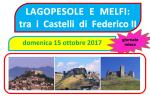 CdT di Salerno e Paesi d'Irpinia – Lagopesole e Melfi – domenica 15 ottobre2017