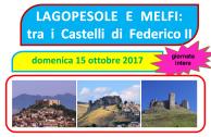 CdT di Salerno e Paesi d'Irpinia - Lagopesole e Melfi - domenica 15 ottobre 2017