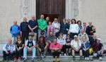 2012 Cammino di Guglielmo 1 _ partenza _ benedizione di Fr AgnelloStoia